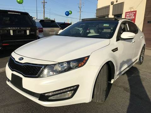 2013 Kia Optima for sale at Luxury Unlimited Auto Sales Inc. in Trevose PA