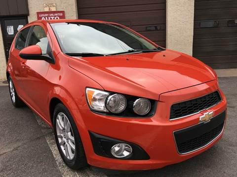 2012 Chevrolet Sonic for sale at Luxury Unlimited Auto Sales Inc. in Trevose PA