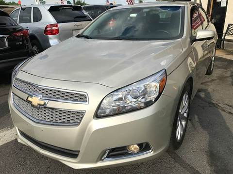 2013 Chevrolet Malibu for sale at Luxury Unlimited Auto Sales Inc. in Trevose PA