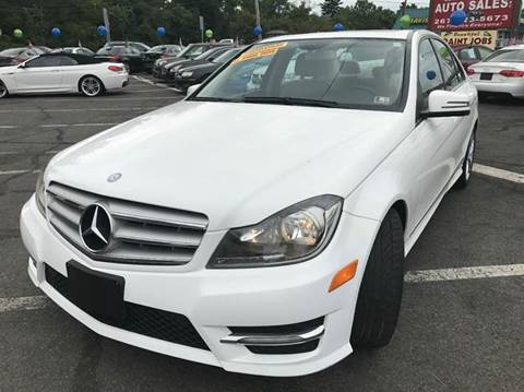 2013 Mercedes-Benz C-Class for sale at Luxury Unlimited Auto Sales Inc. in Trevose PA