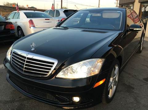 2007 Mercedes-Benz S-Class for sale at Luxury Unlimited Auto Sales Inc. in Trevose PA