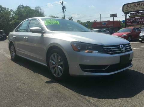 2012 Volkswagen Passat for sale at Luxury Unlimited Auto Sales Inc. in Trevose PA