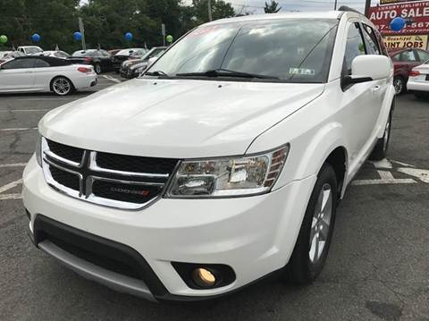 2012 Dodge Journey for sale at Luxury Unlimited Auto Sales Inc. in Trevose PA