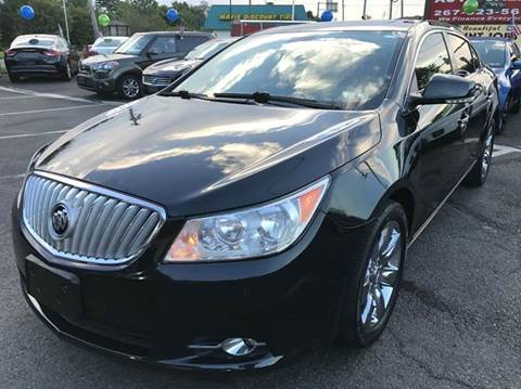 2011 Buick LaCrosse for sale at Luxury Unlimited Auto Sales Inc. in Trevose PA