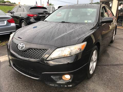 2011 Toyota Camry for sale at Luxury Unlimited Auto Sales Inc. in Trevose PA