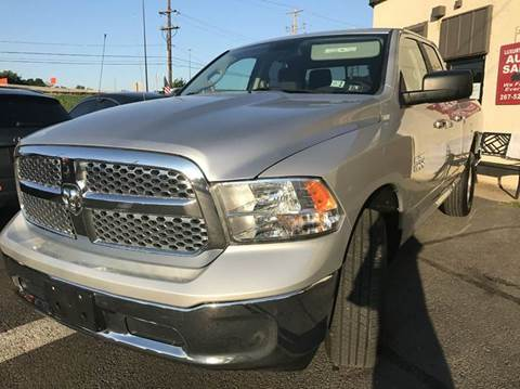 2013 RAM Ram Pickup 1500 for sale at Luxury Unlimited Auto Sales Inc. in Trevose PA