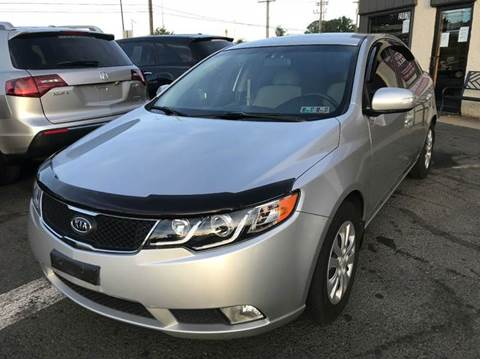 2010 Kia Forte for sale at Luxury Unlimited Auto Sales Inc. in Trevose PA