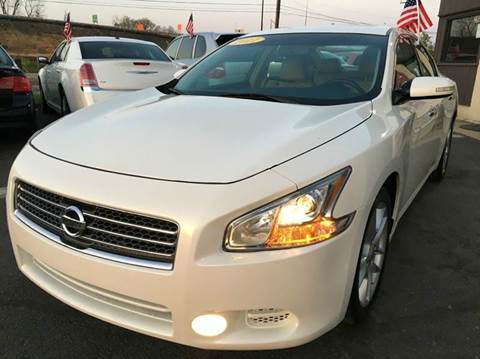 2011 Nissan Maxima for sale at Luxury Unlimited Auto Sales Inc. in Trevose PA