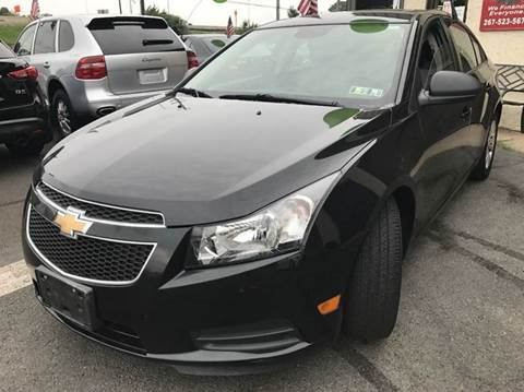 2014 Chevrolet Cruze for sale at Luxury Unlimited Auto Sales Inc. in Trevose PA