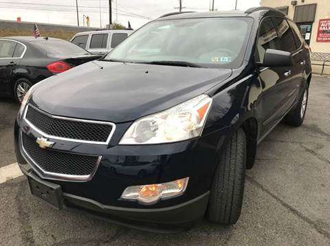 2011 Chevrolet Traverse for sale at Luxury Unlimited Auto Sales Inc. in Trevose PA