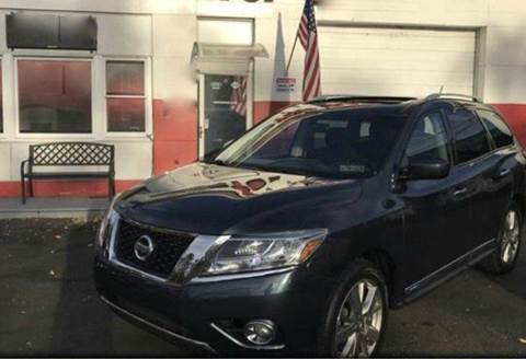2013 Nissan Pathfinder for sale at Luxury Unlimited Auto Sales Inc. in Trevose PA