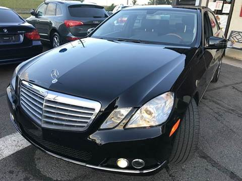 2010 Mercedes-Benz E-Class for sale at Luxury Unlimited Auto Sales Inc. in Trevose PA
