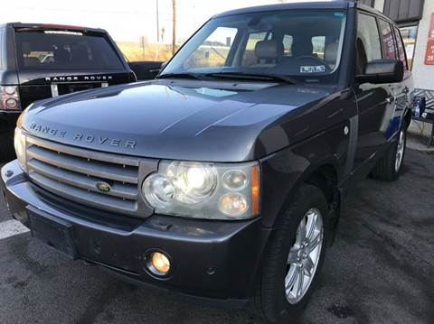 2006 Land Rover Range Rover for sale at Luxury Unlimited Auto Sales Inc. in Trevose PA