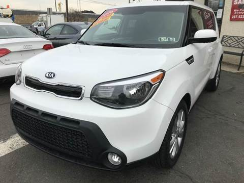 2016 Kia Soul for sale at Luxury Unlimited Auto Sales Inc. in Trevose PA