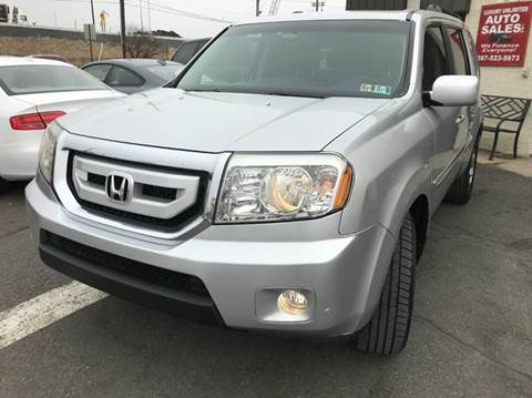 2009 Honda Pilot for sale at Luxury Unlimited Auto Sales Inc. in Trevose PA
