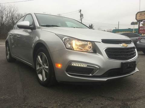 2015 Chevrolet Cruze for sale at Luxury Unlimited Auto Sales Inc. in Trevose PA