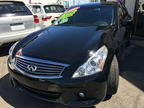 2012 Infiniti G37 Sedan for sale at Luxury Unlimited Auto Sales Inc. in Trevose PA