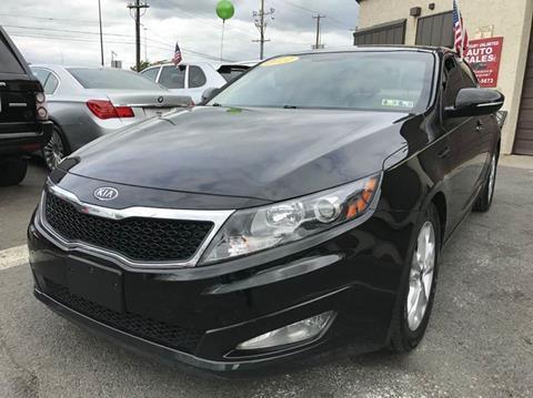 2011 Kia Optima for sale at Luxury Unlimited Auto Sales Inc. in Trevose PA