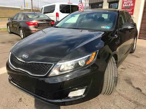 2015 Kia Optima for sale at Luxury Unlimited Auto Sales Inc. in Trevose PA