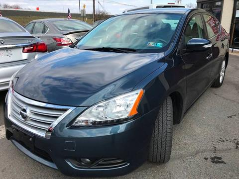 2013 Nissan Sentra for sale at Luxury Unlimited Auto Sales Inc. in Trevose PA