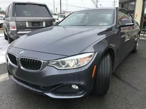 2014 BMW 4 Series for sale at Luxury Unlimited Auto Sales Inc. in Trevose PA