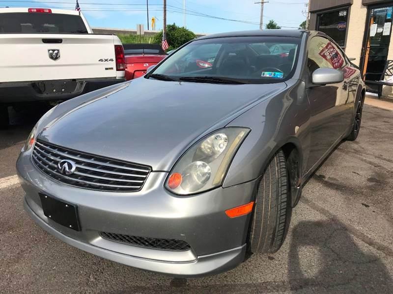 2004 Infiniti G35 for sale at Luxury Unlimited Auto Sales Inc. in Trevose PA