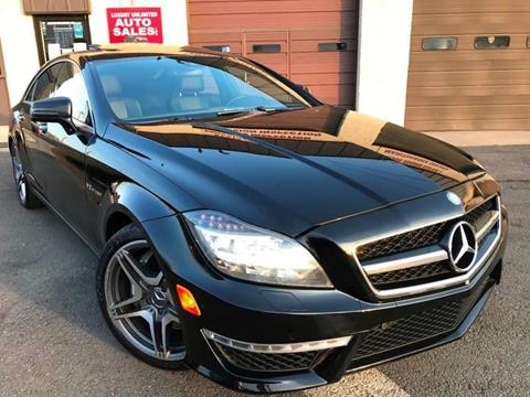 2013 Mercedes-Benz CLS for sale at Luxury Unlimited Auto Sales Inc. in Trevose PA