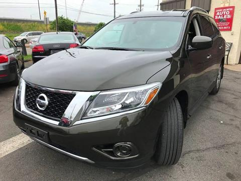 2015 Nissan Pathfinder for sale at Luxury Unlimited Auto Sales Inc. in Trevose PA