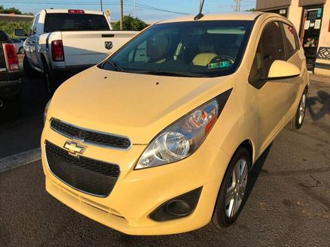 2014 Chevrolet Spark for sale at Luxury Unlimited Auto Sales Inc. in Trevose PA
