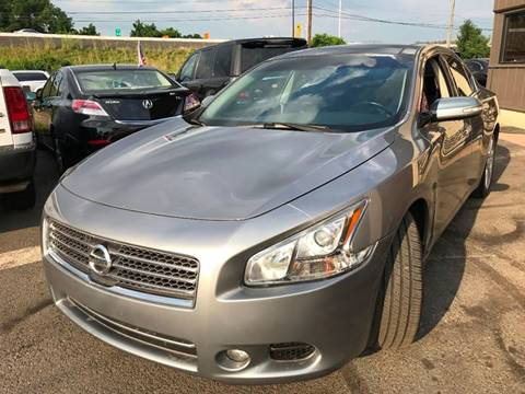 2009 Nissan Maxima for sale at Luxury Unlimited Auto Sales Inc. in Trevose PA