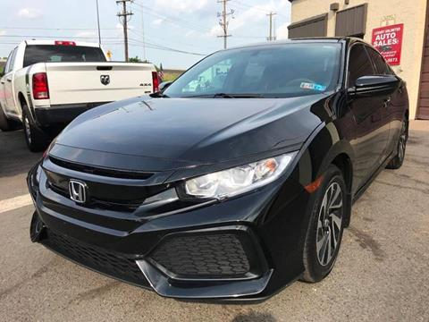 2017 Honda Civic for sale at Luxury Unlimited Auto Sales Inc. in Trevose PA