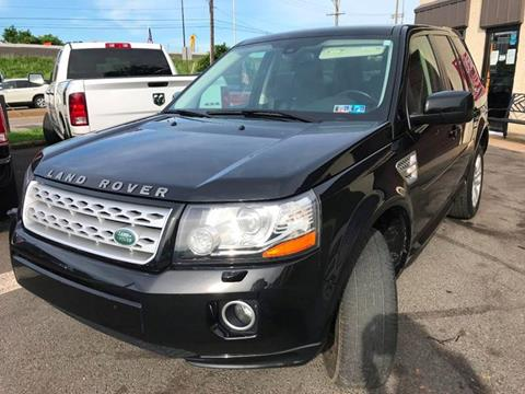 2013 Land Rover LR2 for sale at Luxury Unlimited Auto Sales Inc. in Trevose PA