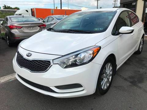 2016 Kia Forte for sale at Luxury Unlimited Auto Sales Inc. in Trevose PA