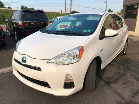 2012 Toyota Prius c for sale at Luxury Unlimited Auto Sales Inc. in Trevose PA