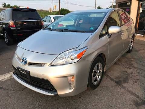 2014 Toyota Prius for sale at Luxury Unlimited Auto Sales Inc. in Trevose PA
