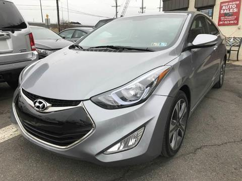 2014 Hyundai Elantra Coupe for sale at Luxury Unlimited Auto Sales Inc. in Trevose PA
