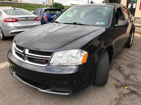 2013 Dodge Avenger for sale at Luxury Unlimited Auto Sales Inc. in Trevose PA