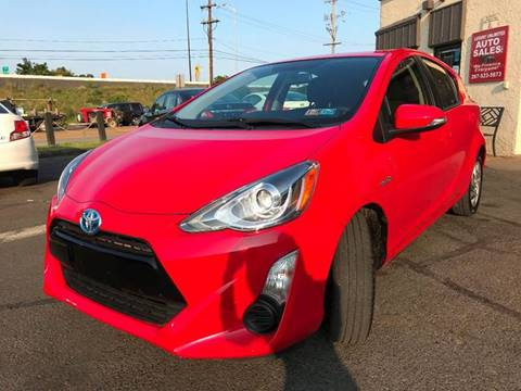 2015 Toyota Prius c for sale at Luxury Unlimited Auto Sales Inc. in Trevose PA