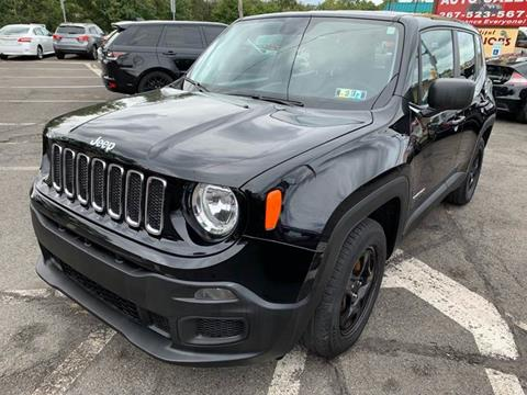 2017 Jeep Renegade for sale at Luxury Unlimited Auto Sales Inc. in Trevose PA