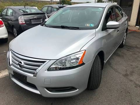 2014 Nissan Sentra for sale at Luxury Unlimited Auto Sales Inc. in Trevose PA