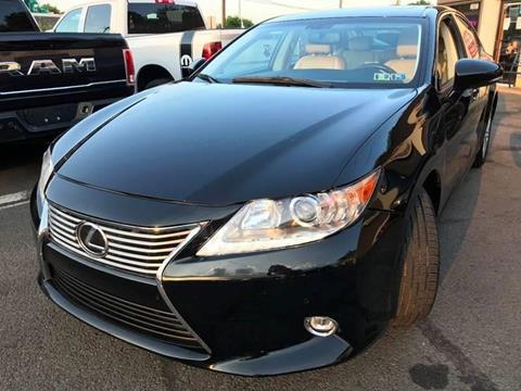 2015 Lexus ES 350 for sale at Luxury Unlimited Auto Sales Inc. in Trevose PA
