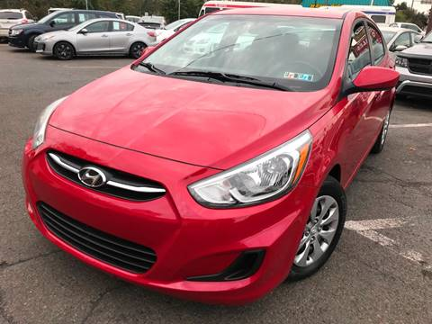 2015 Hyundai Accent for sale at Luxury Unlimited Auto Sales Inc. in Trevose PA