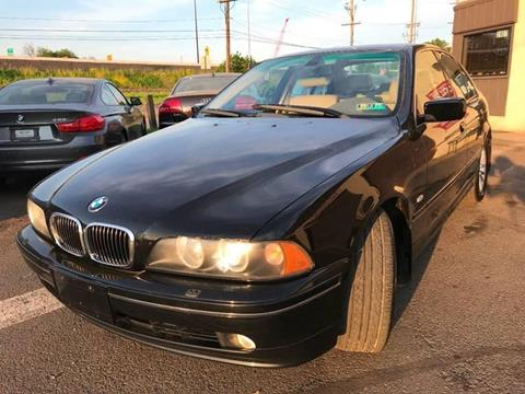 2003 BMW 5 Series for sale at Luxury Unlimited Auto Sales Inc. in Trevose PA