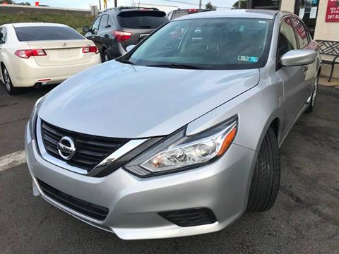 2016 Nissan Altima for sale at Luxury Unlimited Auto Sales Inc. in Trevose PA