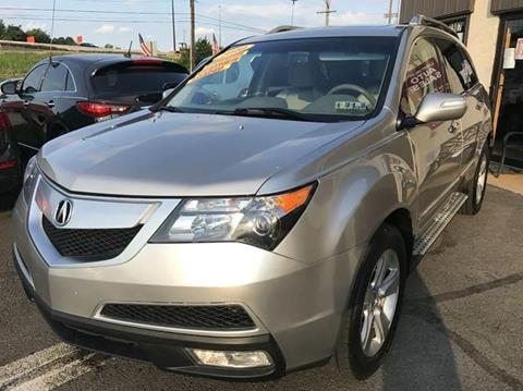 2010 Acura MDX for sale at Luxury Unlimited Auto Sales Inc. in Trevose PA