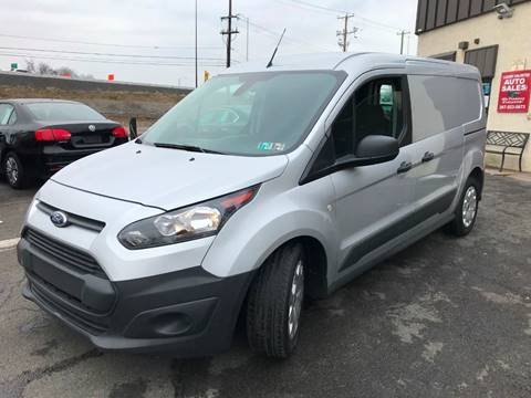 2016 Ford Transit Connect Cargo for sale at Luxury Unlimited Auto Sales Inc. in Trevose PA