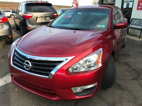 2015 Nissan Altima for sale at Luxury Unlimited Auto Sales Inc. in Trevose PA
