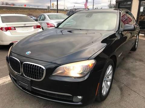 2011 BMW 7 Series for sale at Luxury Unlimited Auto Sales Inc. in Trevose PA