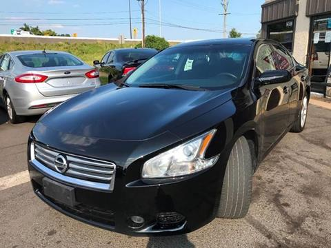 2014 Nissan Maxima for sale at Luxury Unlimited Auto Sales Inc. in Trevose PA