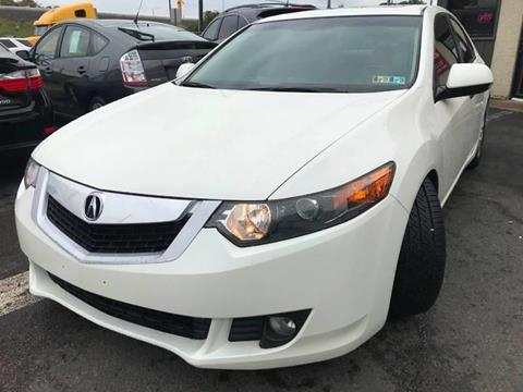 2010 Acura TSX for sale at Luxury Unlimited Auto Sales Inc. in Trevose PA